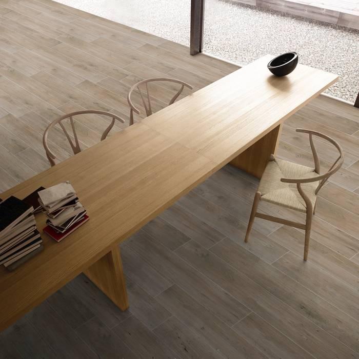 Piastrelle in gres tipo legno serie Life: Pavimento in stile  di WEBTILES CERAMICHE