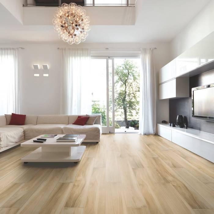 Serie Classica gres porcellanato tipo legno : Pavimento in stile  di WEBTILES CERAMICHE