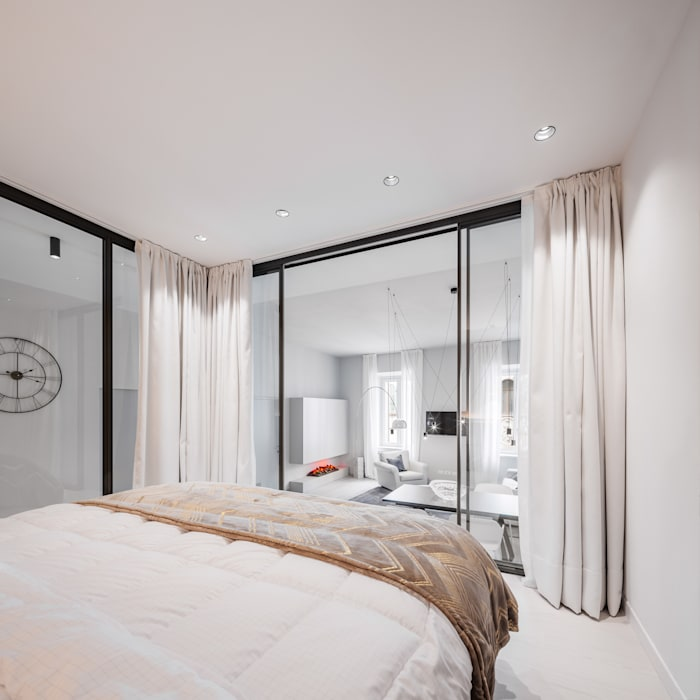 Modern style bedroom by raro Modern