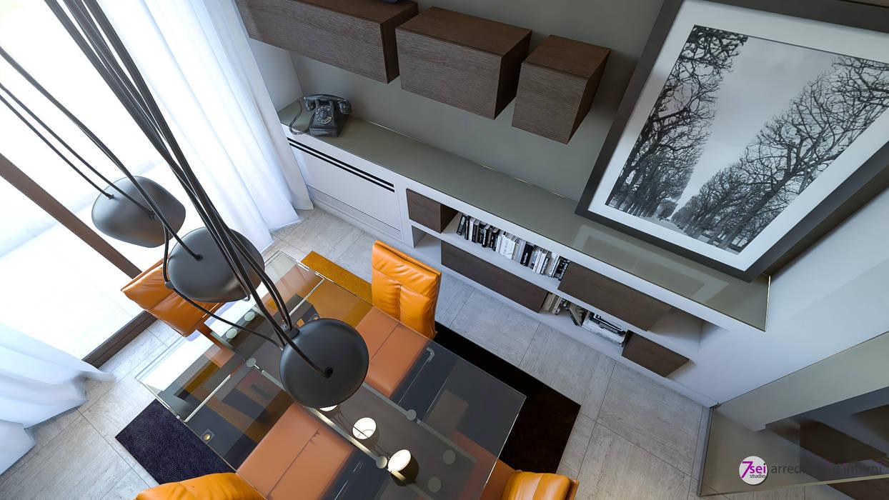 Living Room: Soggiorno in stile in stile Moderno di Studio 7sei