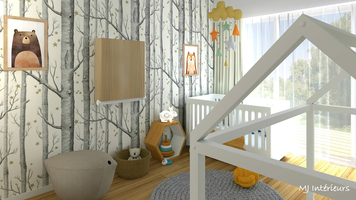 Baby room by MJ Intérieurs,