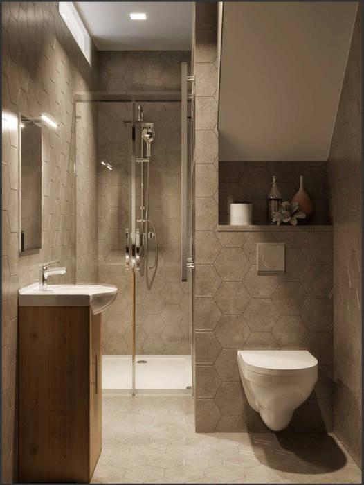 One Bedroom Appartement in Paris: Baños de estilo  de Isabel Gomez Interiors