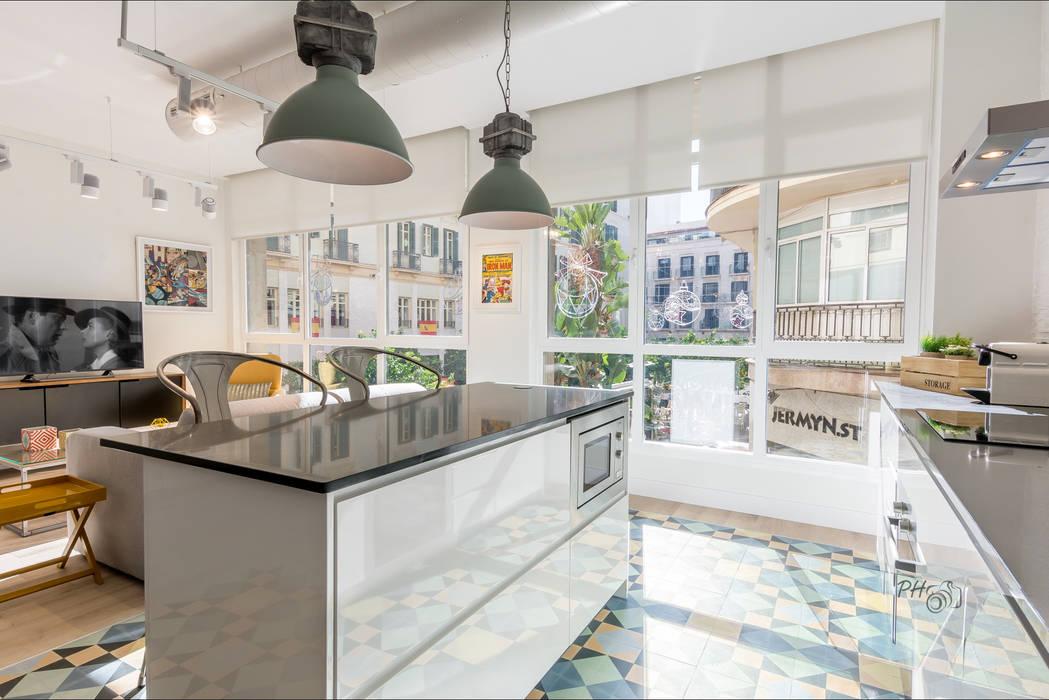 Industrial style kitchen by Per Hansen Industrial