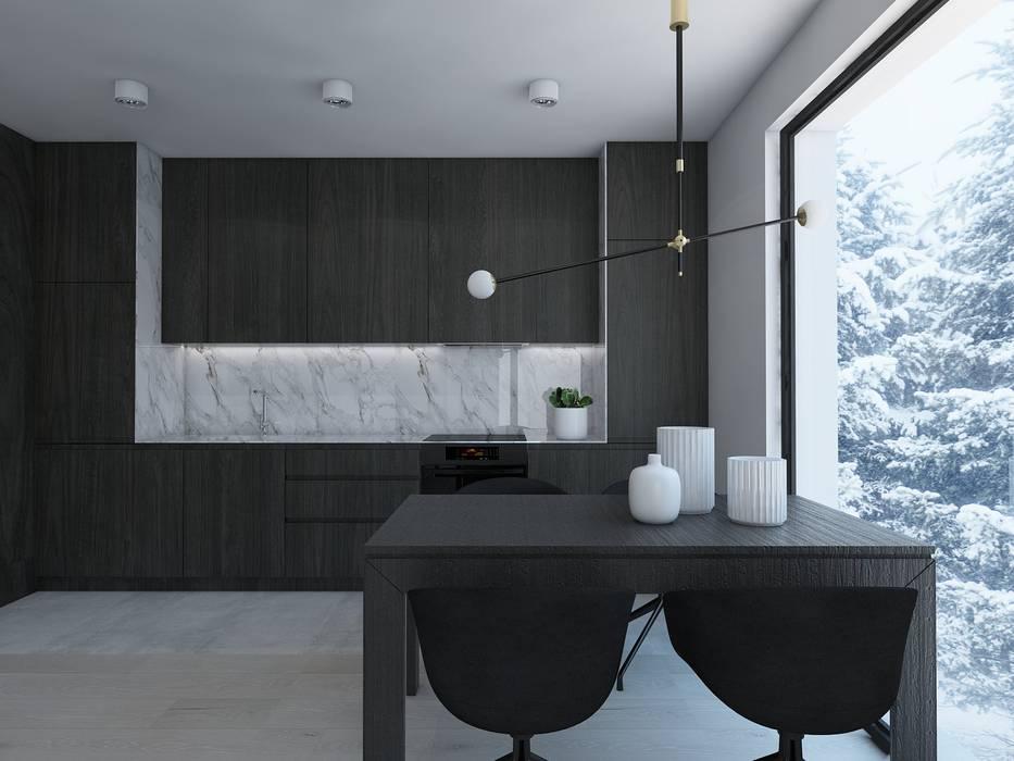 UTOO-Pracownia Architektury Wnętrz i Krajobrazu Modern Kitchen