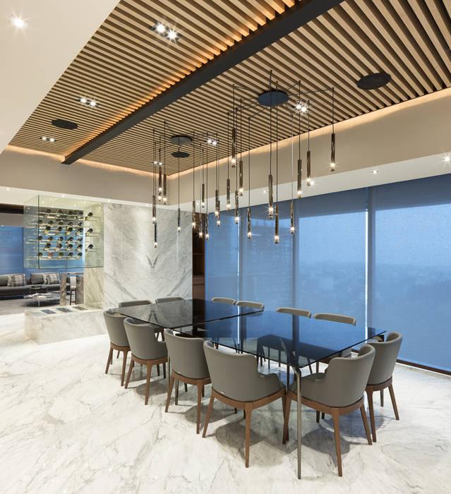 Comedores de estilo  de Concepto Taller de Arquitectura, Moderno