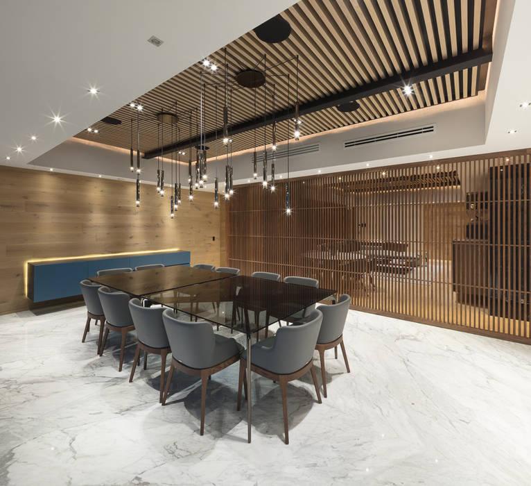 Departamento SS Ruang Makan Modern Oleh Concepto Taller de Arquitectura Modern