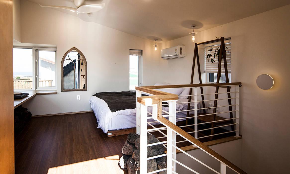 제주 두모리 주택 더 이레츠 건축가 그룹 컨트리스타일 미디어 룸
