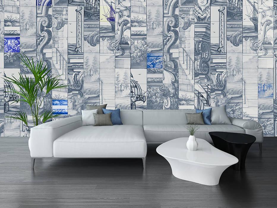 Kantor & toko by House Frame Wallpaper & Fabrics