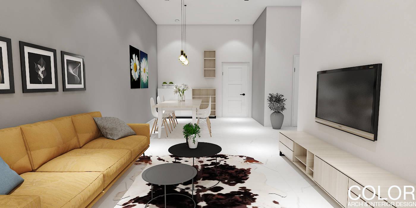 Thiết kế chung cư bởi COLOR DECOR