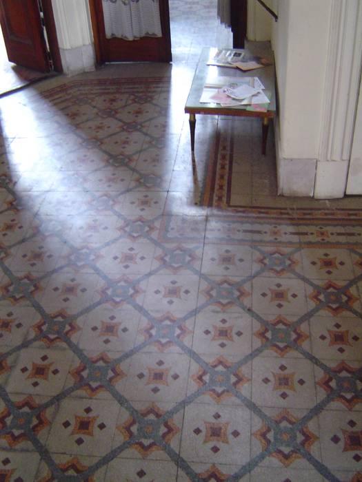 Estado original - pisos ingleses a restaurar de arq.c2 Moderno