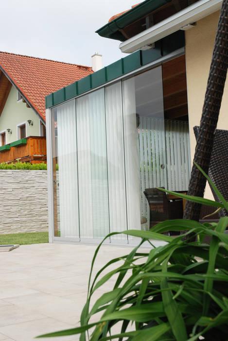 Wintergarten Anbau Holz Und Glasschiebeturen Von Sunflex