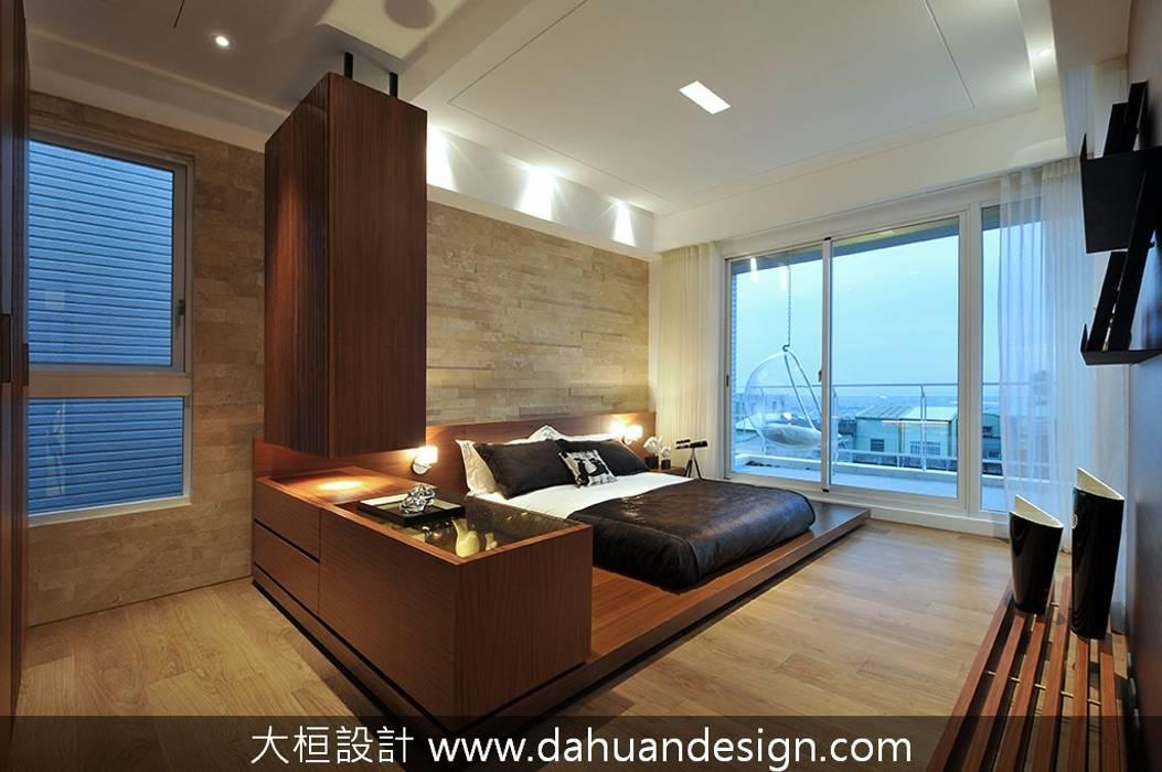 大桓設計-室內設計-極上之墅 根據 大桓設計顧問有限公司 現代風 大理石