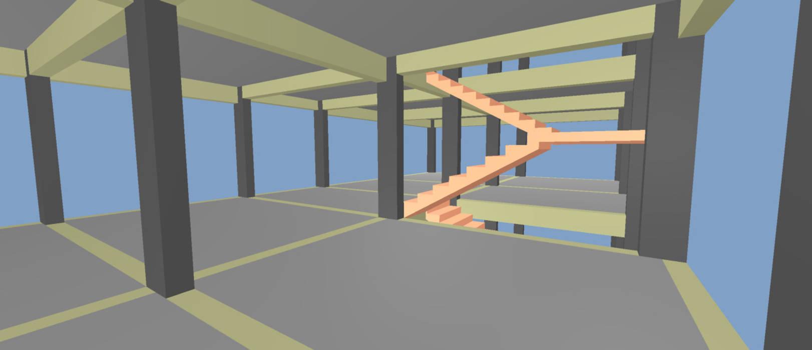 Imagem interna do Pavimento: Pavimentos  por P.GARCIA | Projetos Técnicos,Clássico