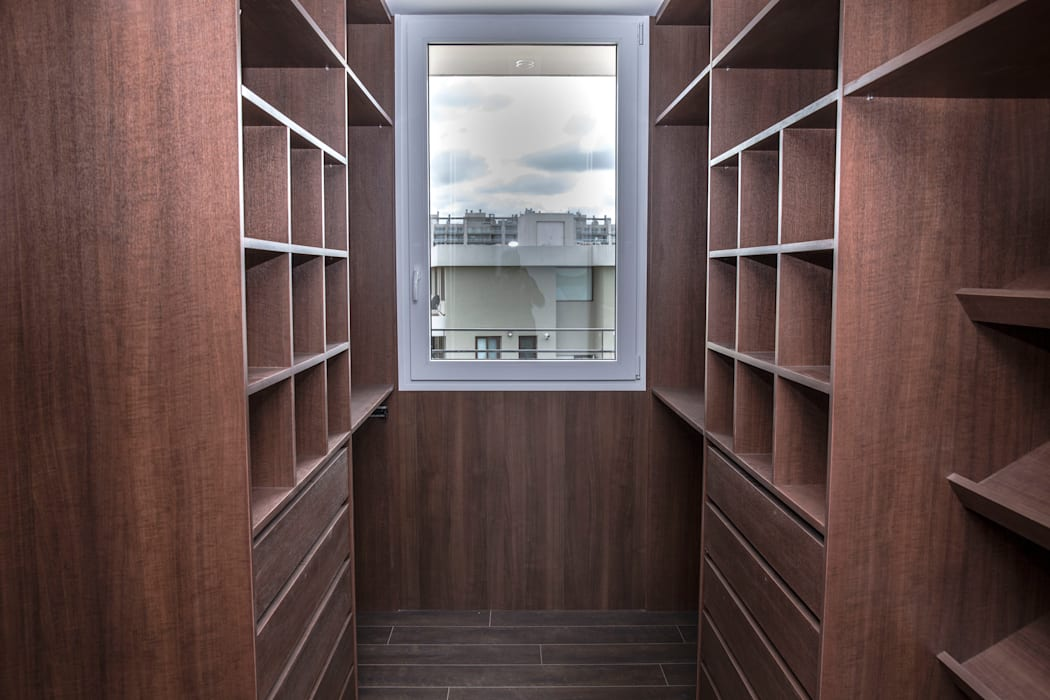 Dressing room by CIBA ARQUITECTURA