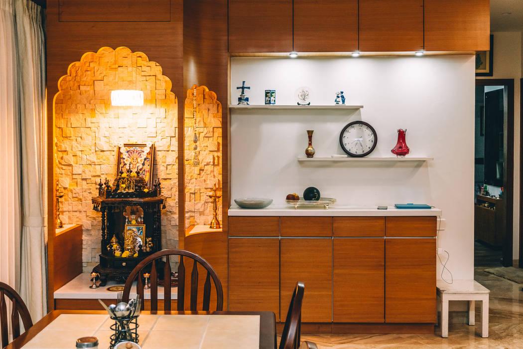 اتاق غذاخوری توسطOrigami Space Design, مدرن