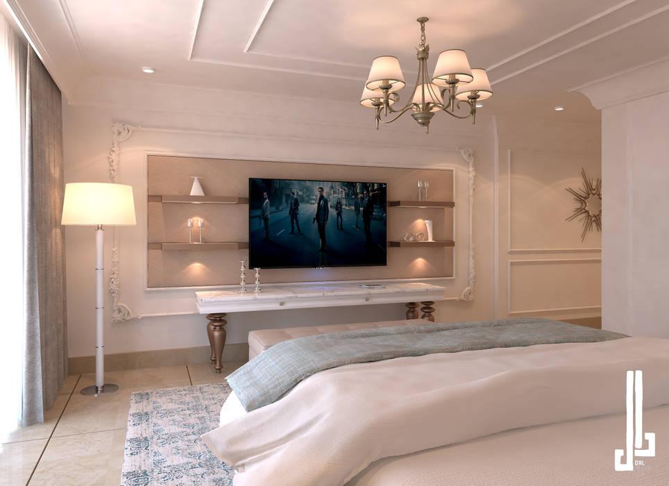 St. Regis hotel apartment:  Bedroom by dal design office