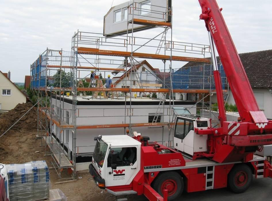 Sorveglianza per Cantieri Edili: Spazi commerciali in stile  di Bor Sorveglianza attiva