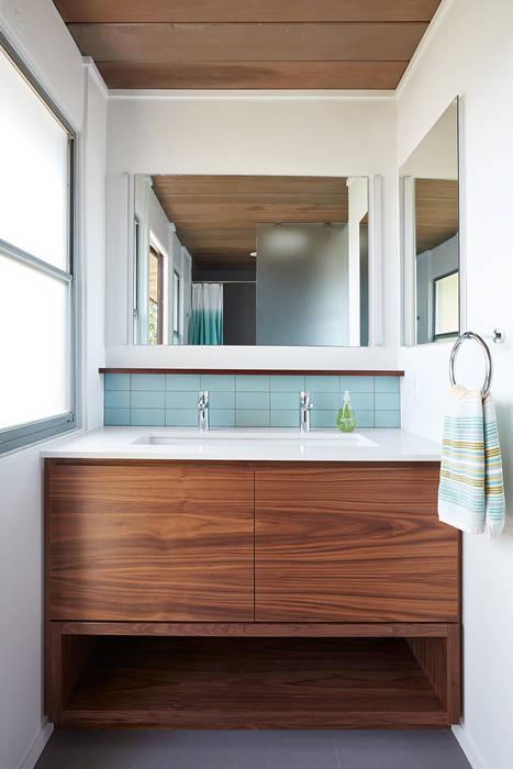 Burlingame Eichler Remodel Klopf Architecture Modern Bathroom by Klopf Architecture Modern