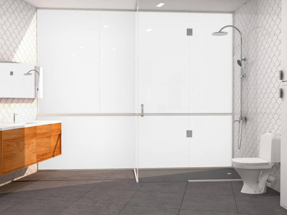 Decoración e Interiorismo Atico Malaga: Baños de estilo  de Klausroom