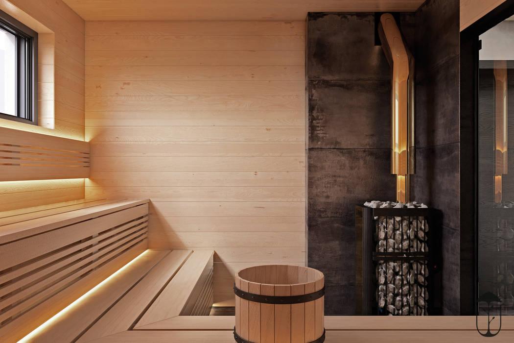 Spa de estilo  de U-Style design studio