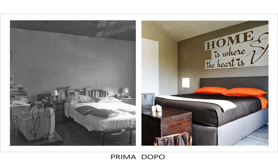 Ristrutturazione: Camera da letto in stile in stile Moderno di Alessandri Architetti