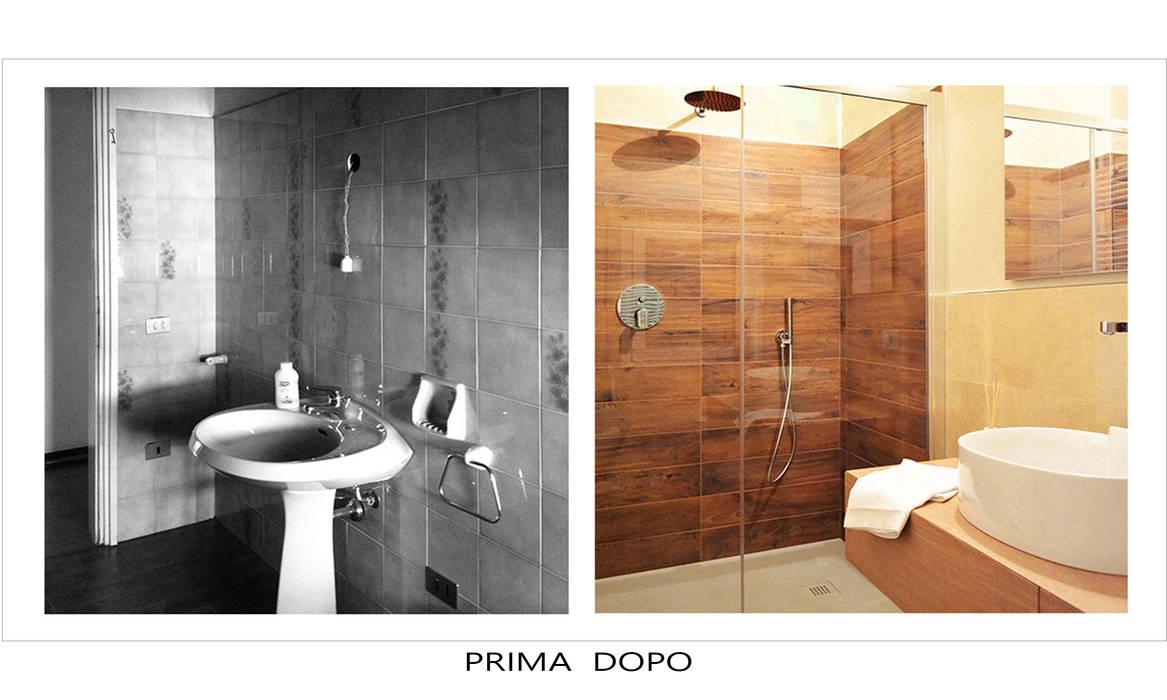 Ristrutturazione: Bagno in stile in stile Moderno di Alessandri Architetti