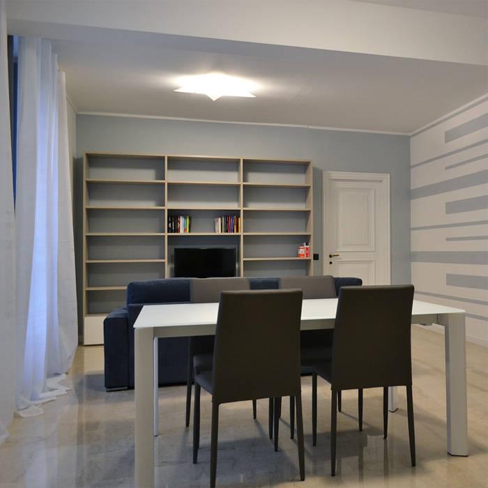Ristrutturazione: Soggiorno in stile in stile Moderno di Alessandri Architetti