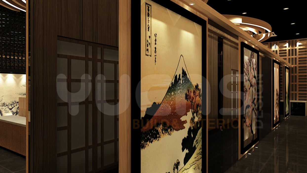 Bars & clubs by Yucas Design & Build Sdn. Bhd.