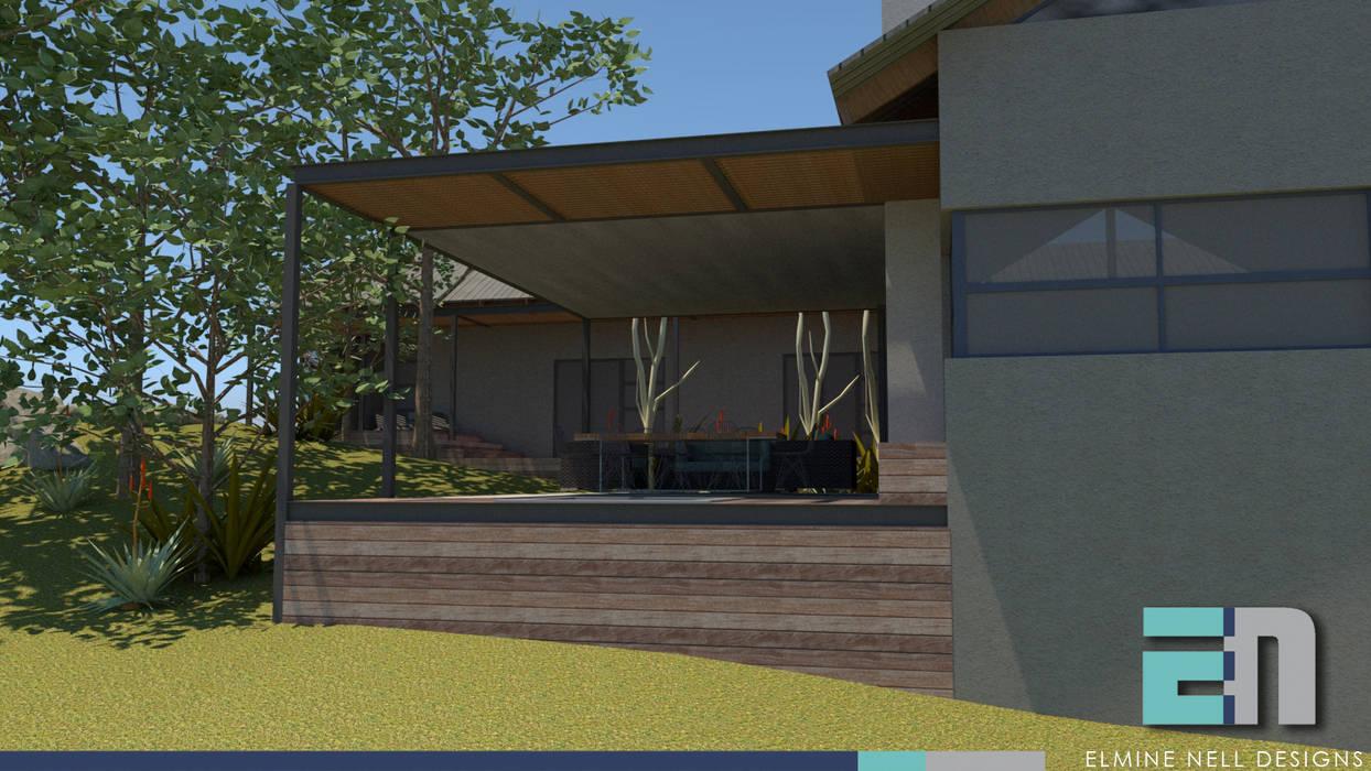 Modern balcony, veranda & terrace by ENDesigns Architectural Studio Modern