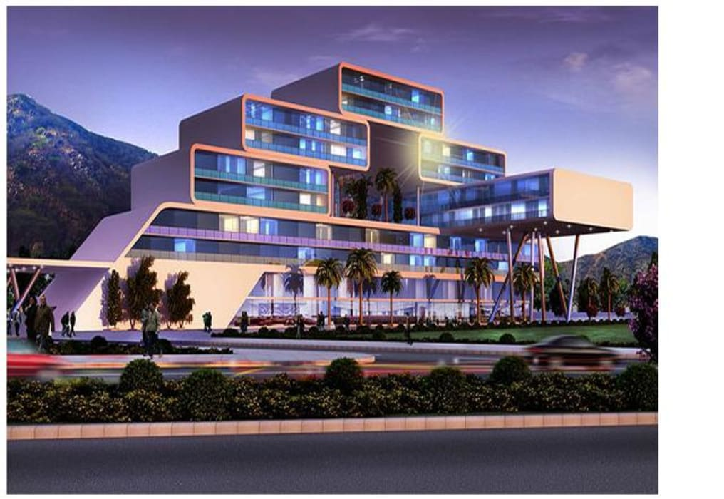 Habitat, mixed use development, retail, office and serviced