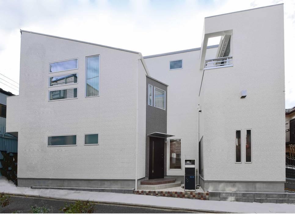 外観 の 滝沢設計合同会社 モダン スレート
