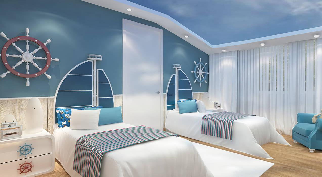 Boys Bedroom by novum dekor
