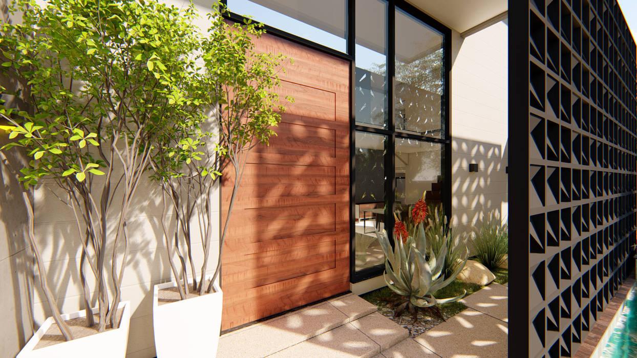 de IEZ Design Moderno Madera Acabado en madera