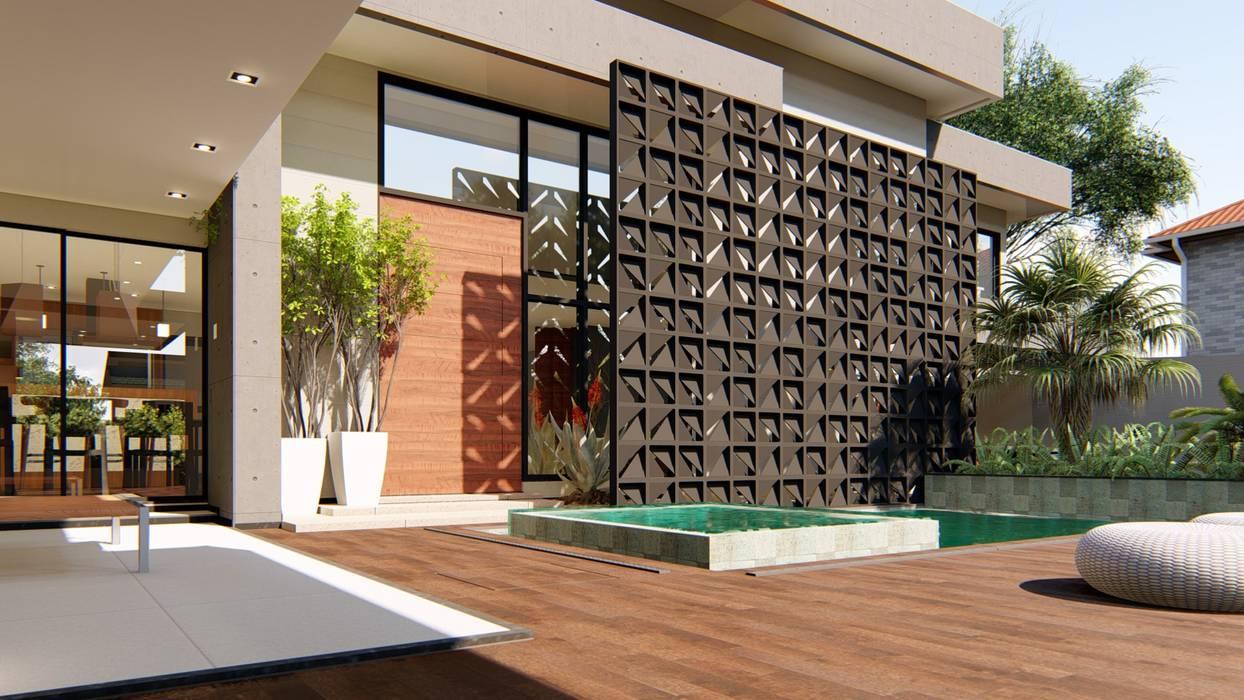 توسط IEZ Design مدرن چوب Wood effect