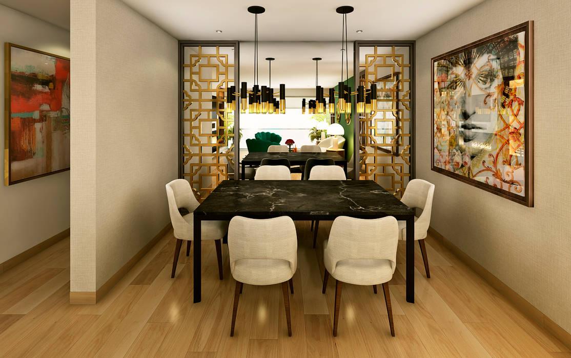 Modern dining room by Luis Escobar Interiorismo Modern