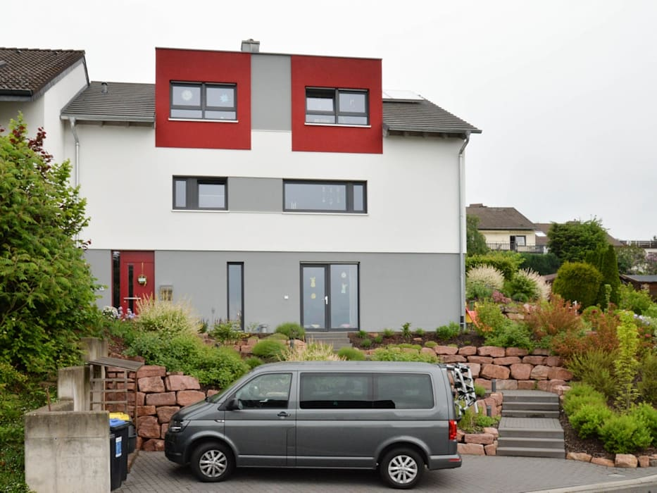 Haus Am Hang Holzhaus Von Herrmann Massivholzhaus Gmbh