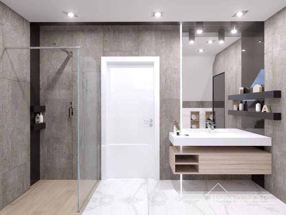 Ванная комната в стиле модерн от HomeKONCEPT | Projekty Domów Nowoczesnych Модерн