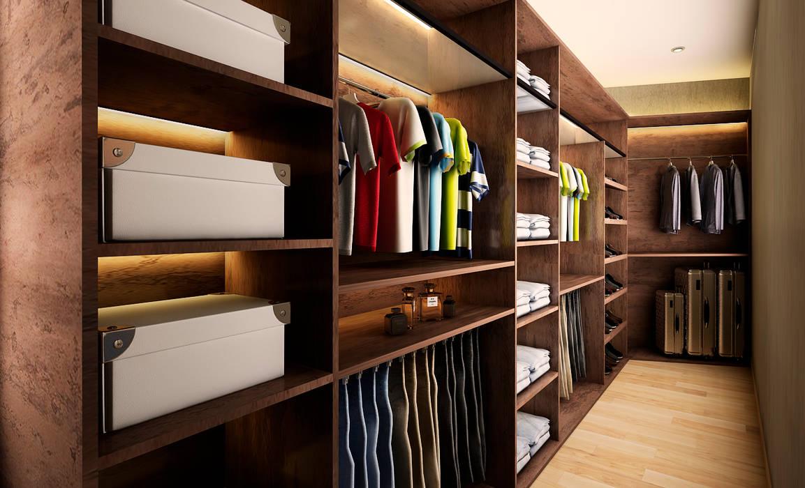 Proyecto WA Dormitorios de estilo moderno de Luis Escobar Interiorismo Moderno
