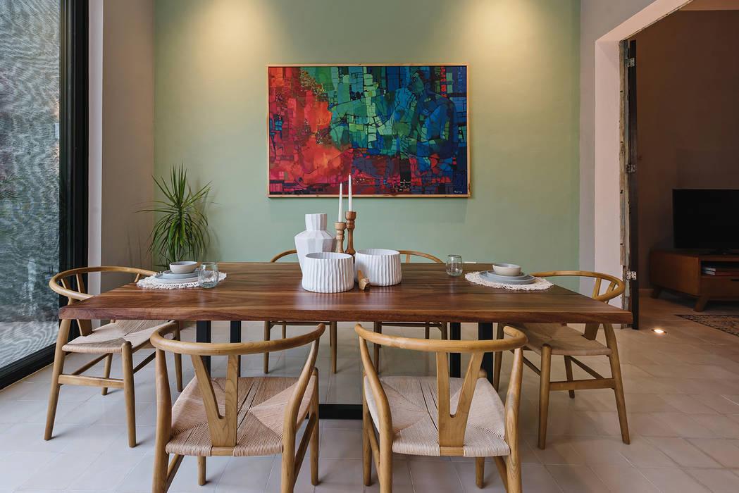 Comedor: Comedores de estilo  por Workshop, diseño y construcción
