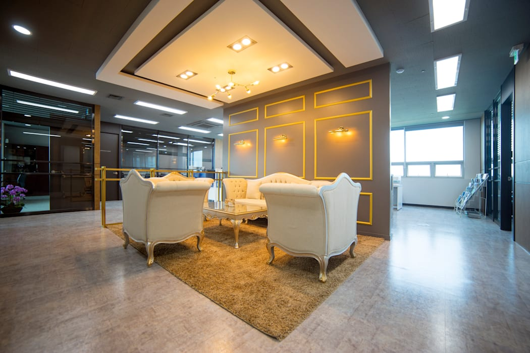 Modern office buildings by 제시카디자인그룹 Modern