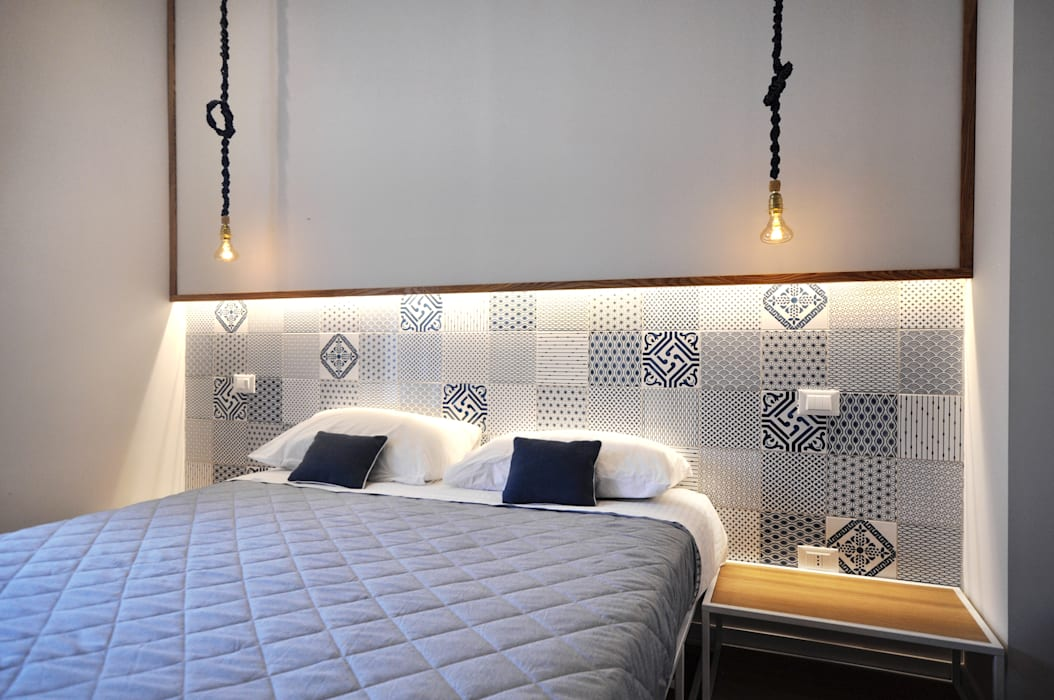 B&b canceddi: camera da letto in stile di degma studio | homify