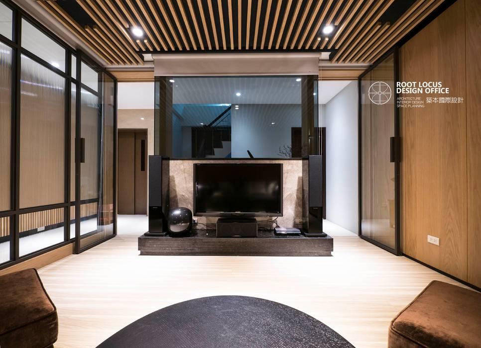Ruang Multimedia oleh 築本國際設計有限公司, Asia