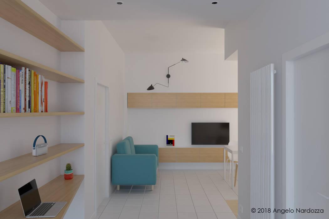 """Appartamento """"easy"""" a Milano, ingresso: Ingresso & Corridoio in stile  di Angelo Nardozza Architetto"""