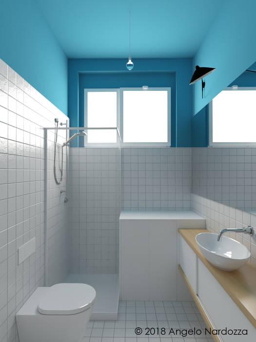 """Appartamento """"easy"""" a Milano, bagno: Bagno in stile in stile Moderno di Angelo Nardozza Architetto"""