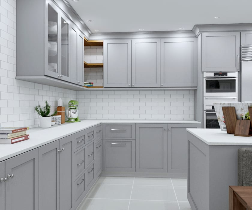 Built In Kitchen Cupboards Designs: Sandton Kitchen—bespoke Design : Built-in Kitchens By