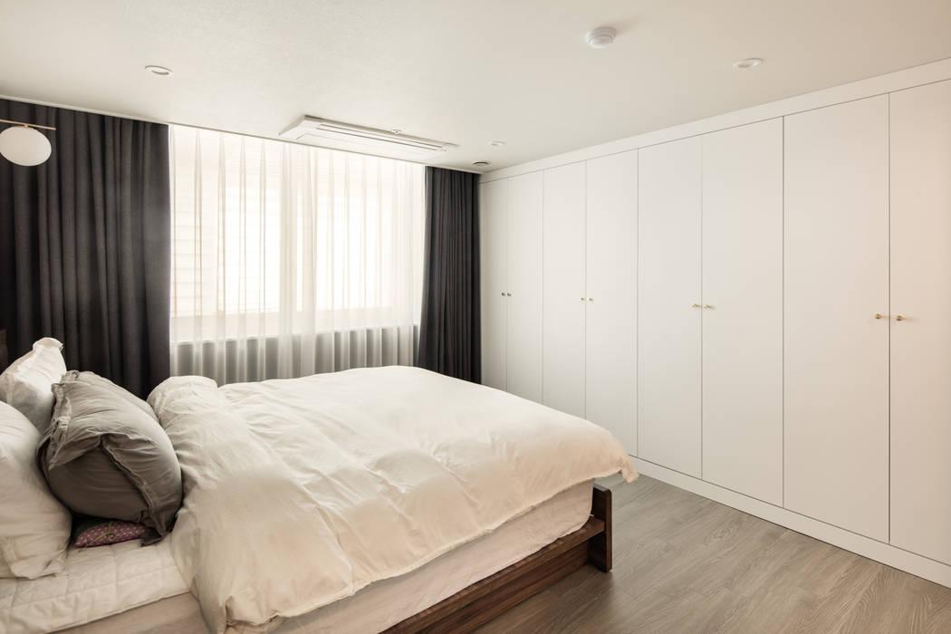 부천 약대동 두산트레지움 35PY 봄디자인 모던스타일 침실