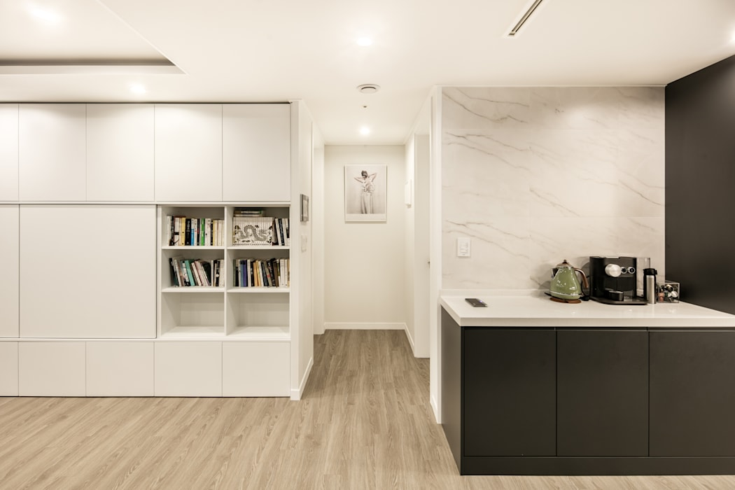 Moderne Wände & Böden von 봄디자인 Modern