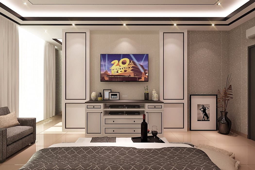 Lighthouse Architect Indonesia Chambre moderne
