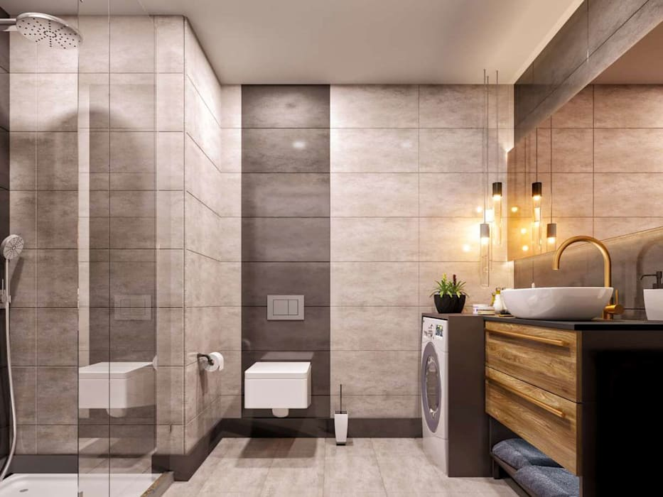 Modern Bathroom by Statü Plus Modern