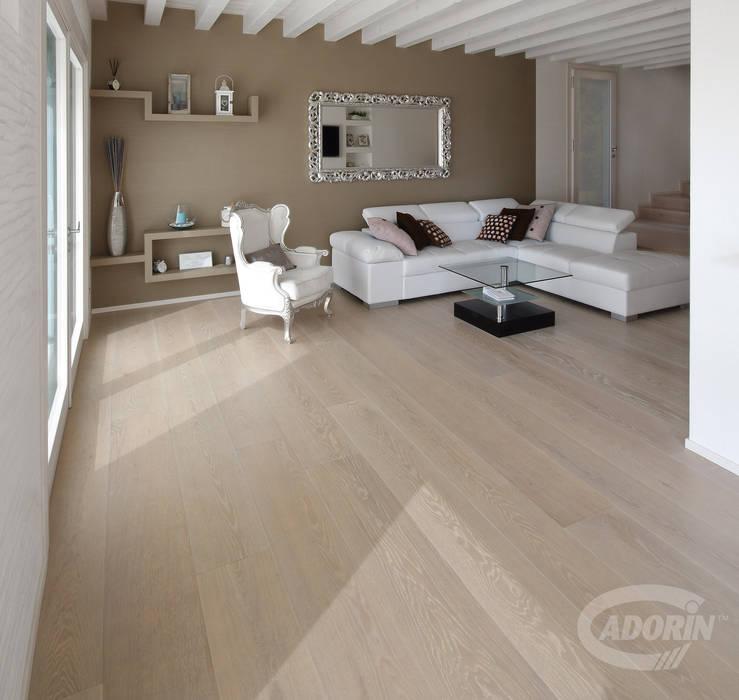 Rock Oak wood floor Cadorin Group Srl - Italian craftsmanship production Wood flooring and Coverings Living room
